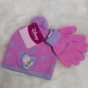 Disney Princess Winter Hat and Gloves